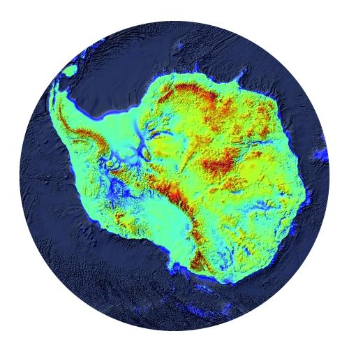 L'Antàrtida davall la capa de gel