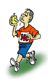 Menja molta fruita i fibra. Porta una vida activa, fes exercici i evitia estar molt de temps assegut o estirat. Controla periòdicament els teus nivells de colesterol, la pressió arterial i el sucre. Mantín el teu pes ideal.