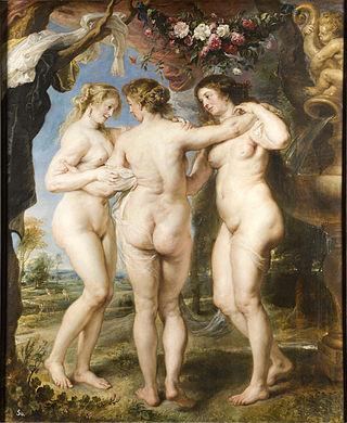 Les Tres Gràcies Peter Paul Rubens, 1639