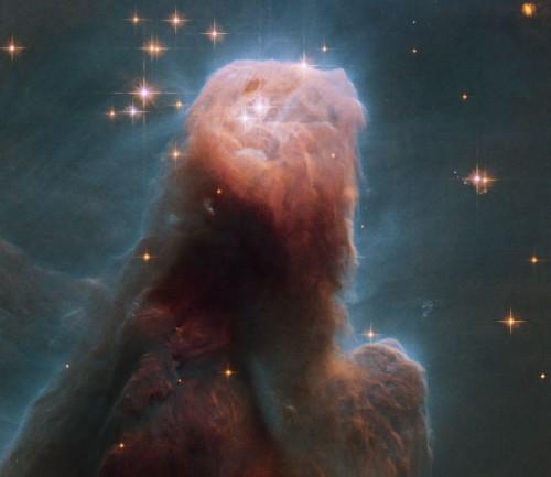 La nebulosa del Con des del Hubble